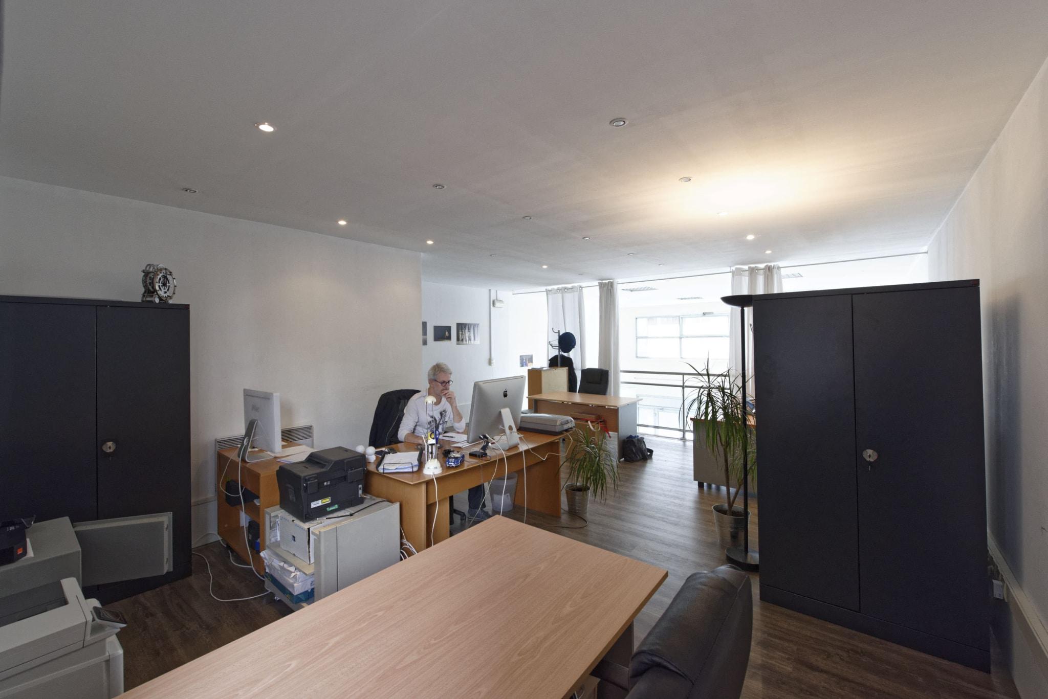 Coworking bureaux partagés