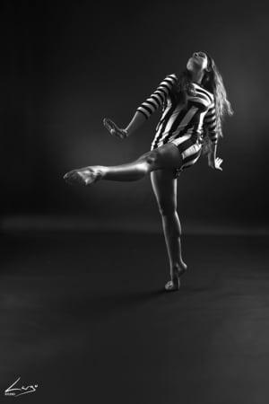 cahier présentation photo danseuse