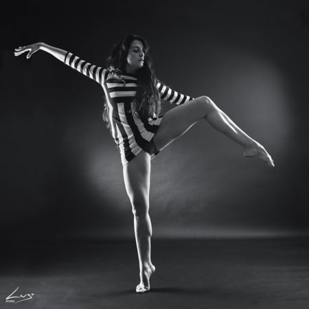 shooting photos de danseuse pour book photo