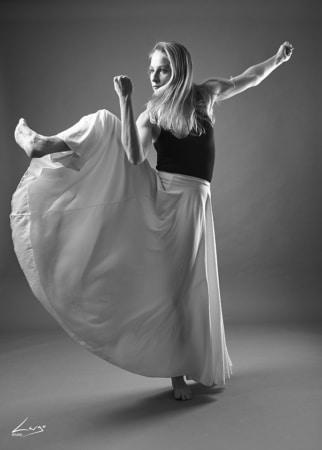 Book photos danseuse en studio à Lyon
