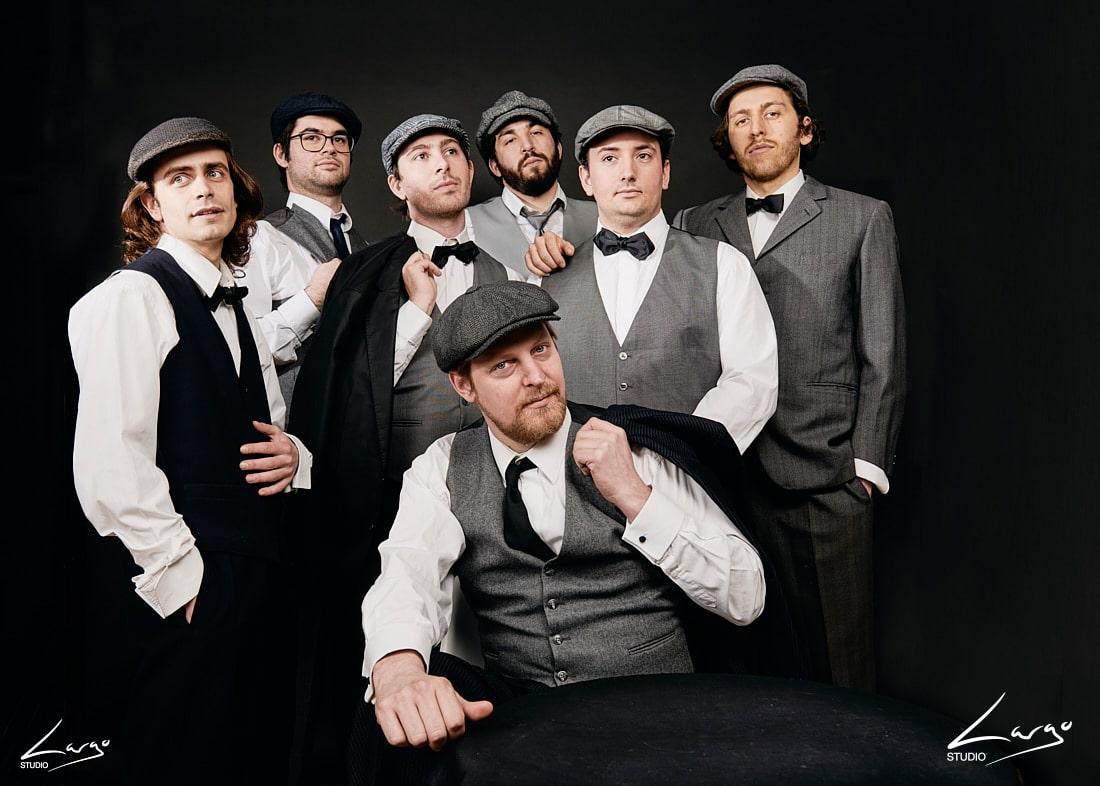 Séance photo de groupe portrait corporate